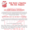 #VillaGeneralBelgrano: Festejo solidario por el aniversario del Club Social