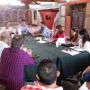 Reunion sobre turismo de la Comunidad Regional Calamuchita con los intendentes, jefes comunales y directores de turismo