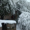 Mucha nieve en el Cerro Champaquí