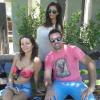 Paz Cornu, Micaela Breque y Silvina Luna Listas para el desfile