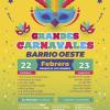 #CarnavalesBarrioOeste Viernes 22 y Sábado 23 en Villa General Belgrano