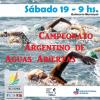 Campeonato de aguas abiertas en Villa Rumipal