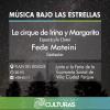 #VillaCiudadParque: «Música bajo las estrellas» todos los viernes