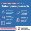 #Coronavirus saber para prevenir