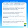 #Embalse se suma a las medidas de prevención por el coronavirus