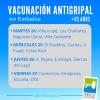 #Embalse: Vacuna Antigripal