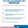 No nos olvidemos del dengue