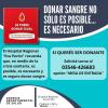 #Calamuchita: Donación de sangre
