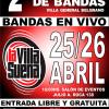 2° Festival Regional de Bandas «La Villa Suena»