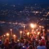 VGB ➡️ Paseo de antorchas en la Virgen del cerro