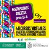 Villa G. Belgrano: Cursos virtuales y gratuitos para jóvenes