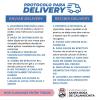 #SantaRosa: Protocolo para delivery