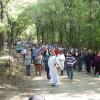 Mateada criolla en familia en el festejo de Pascua en Los Reartes