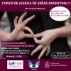 #VillaGeneralBelgrano: Curso de Lengua de Señas Argentina II