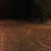 Se desbordaron los arroyos en Villa G. Belgrano