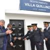Villa Quillinzo: se inaugura sala cuna, comisaria y camaras de seguridad