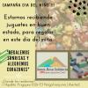 #SantaRosaSolidaria realiza una campaña de juguetes por el día del niño