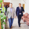 Santa Rosa: Schiaretti y Chavero firmaron convenio para cloacas