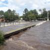 Video y fotos: otra gran crecida en el rio Santa Rosa