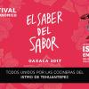 Sergio Martini viaja a Oaxaca al Festival del Saber y el Sabor