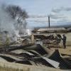 Incendio en aserradero
