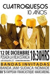 4 quesos afiche
