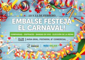 carnaval embalse