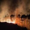 #Incendios: Varios focos se registraron en el Valle de Calamuchita