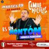 #SantaRosa: Camilo Nicolás en el Teatro Deportivo Italiano