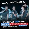 #SantaRosa: Llega La Konga al Teatro Deportivo Italiano