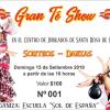 «Gran Té Show» a beneficio de la academia Sol de España