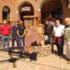 Villa General Belgrano: La Torre del Reloj ya tiene su cúpula