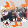 #SantaRosa: Bomberos Voluntarios premiaron a Patricio, el nene que salvó la vida de su hermana