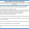 #Calamuchita: Consejos de la comunidad regional de la salud para los comercios