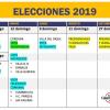 #Elecciones2019 Calendario para votar en Calamuchita