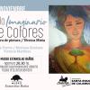 #SantaRosa: Muestra «Vuelo imaginario de colores»