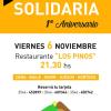 Santa Rosa Solidaria festeja su 1° aniversario