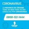 #Coronavirus: El Gobierno provincial cuenta con un 0800 para información y denuncias por el COVID-19