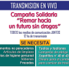 """Transmisión radial solidaria: """"Remar hacia un futuro sin drogas"""""""