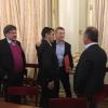 Mauricio Jaimes, intendente de La Cruz estuvo en la Casa Rosada con Macri
