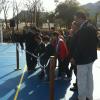 Se inauguró el primer playón deportivo
